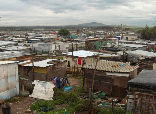Residents of Doornbach informal settlement will finally be able to acquire basic services since the City of Cape Town has bought the land they occupy. Photo: Peter Luhanga/WCN