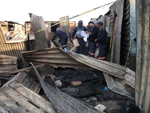 Baby dies in Khayelitsha shack fire