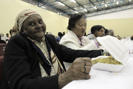 Muslim charity feeds 1200 Cape Flats residents