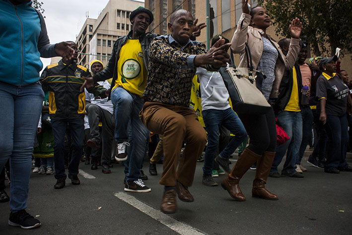 ANC anger mounts as South Africans gather against Zuma