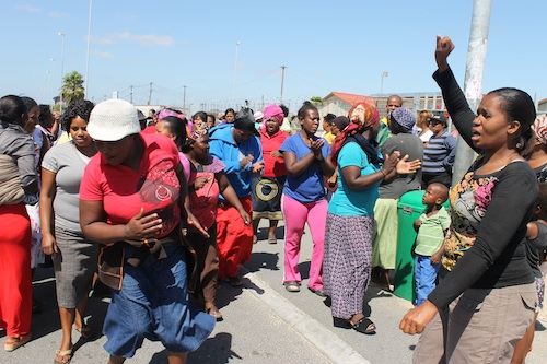 Schools rocked by protests while MEC hands out awards