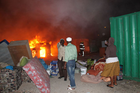 3-Year-old dies in shack fire