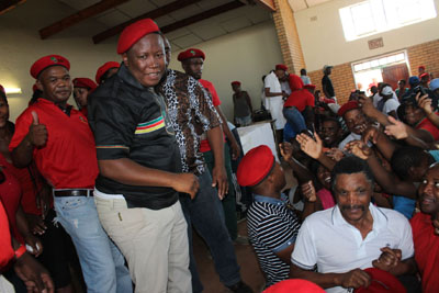 Malema tells farm workers he will return to Nkandla