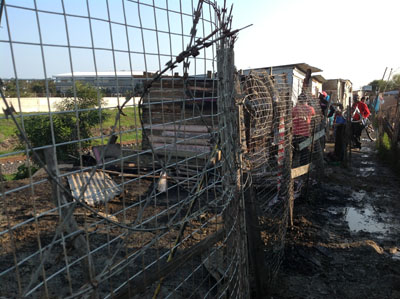 Cape Town man dies in shack fire