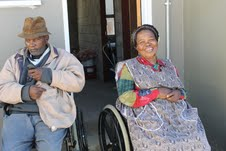 Disabled couple and son finally get promised house