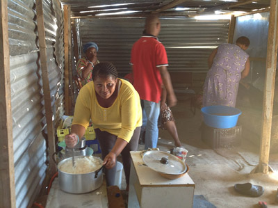 After protests, squatters rebuild their shacks again
