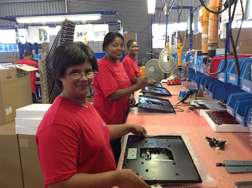 TV manufacturing company creates jobs in Atlantis