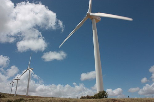 About 90 percent of the energy generated by the wind farm on the west coast between Darling andy Yserfonteing since 2008 remains as unsold green certificates. Photo: Steve Kretzmann/WCN