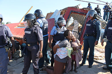 Marikana shacks were 'unoccupied' claims City