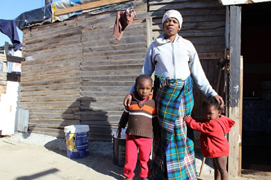 Families lose homes to make way for toilets