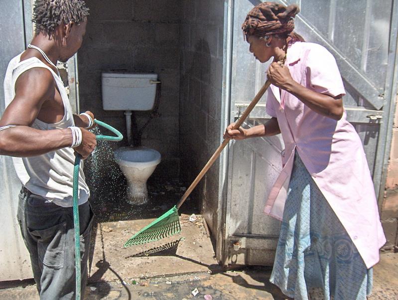 We've had enough of dirty toilets, say volunteer residents