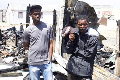Mom and baby die in shack fire