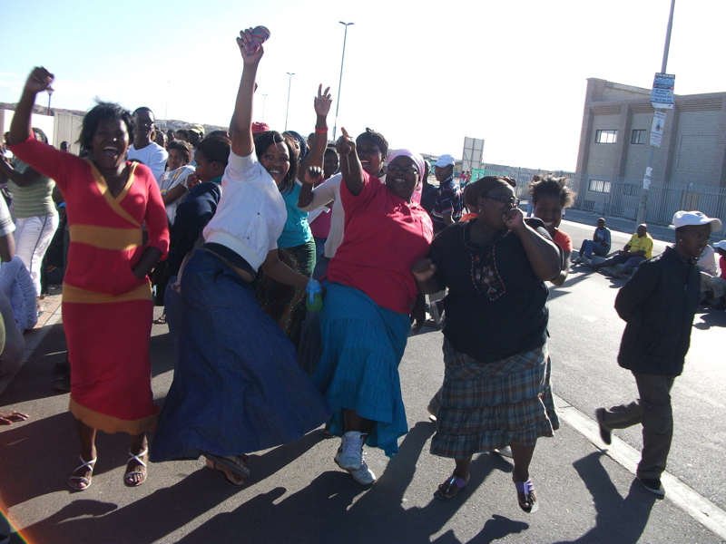 ANCYL officials throw rocks at residents, spark protest