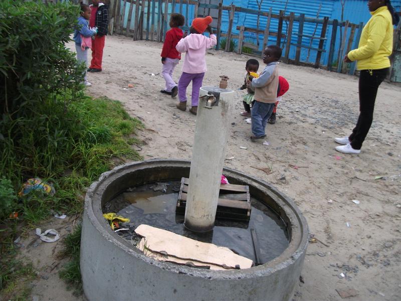 Evil spirit haunts Khayelitsha water stand pipe