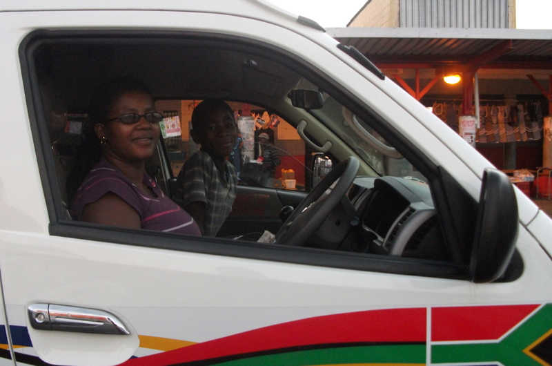 Meet Khayelitsha's only female taxi driver