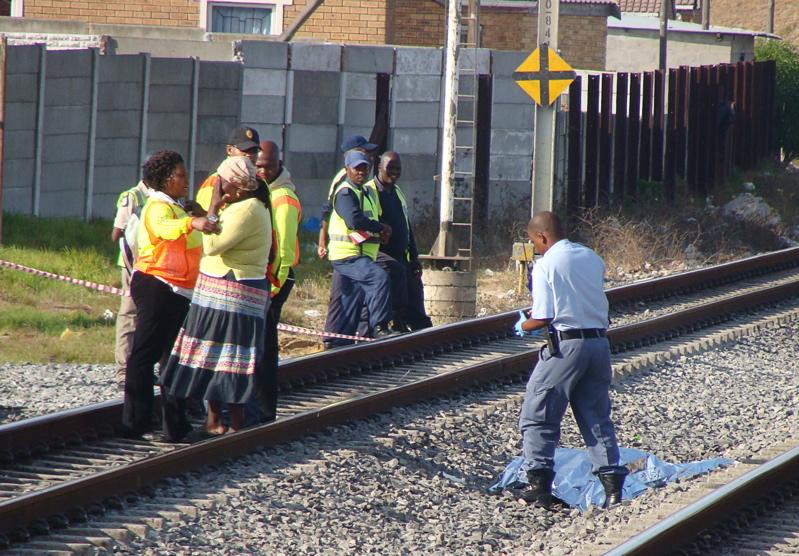 Train tragedy: student dies