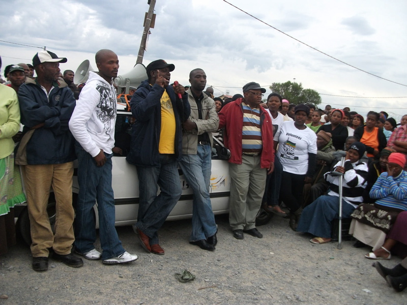 Hero's welcome for new Makhaza councillor