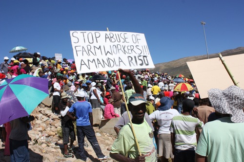 Farmers prepared for farmworker strikes