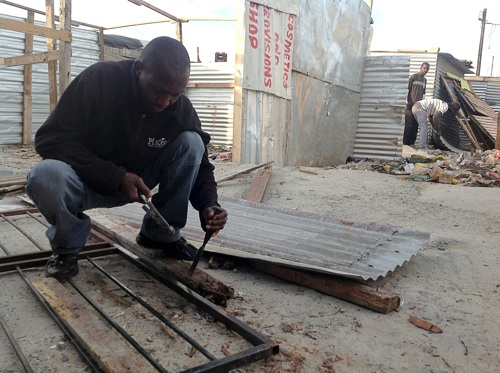 Joe Slovo residents rebuild after city demolishes their homes