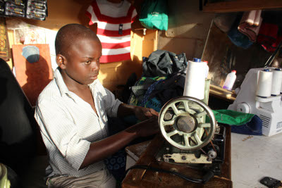 Teen makes success of sewing business