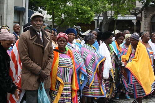 Limpopo pensioners' group enjoys the Cape's bounty