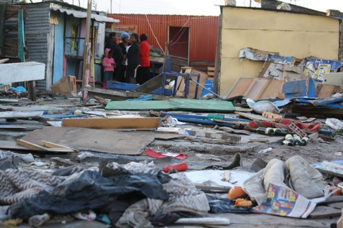 Fight over R20 leaves seven people in hospital and six shacks destroyed