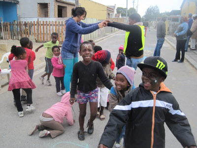 Langa homes and streets open up for art and play