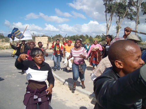 Khayelitsha residents march over allegations of housing corruption