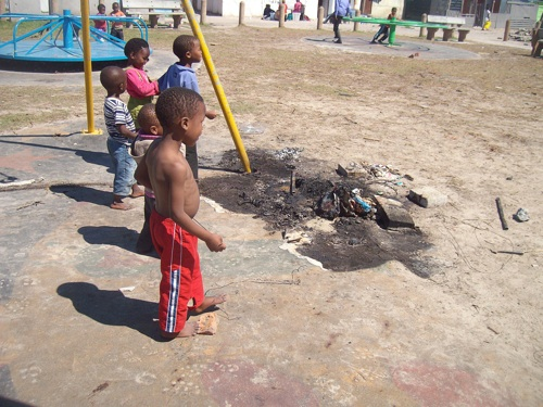 Necklacing returns to Khayelitsha