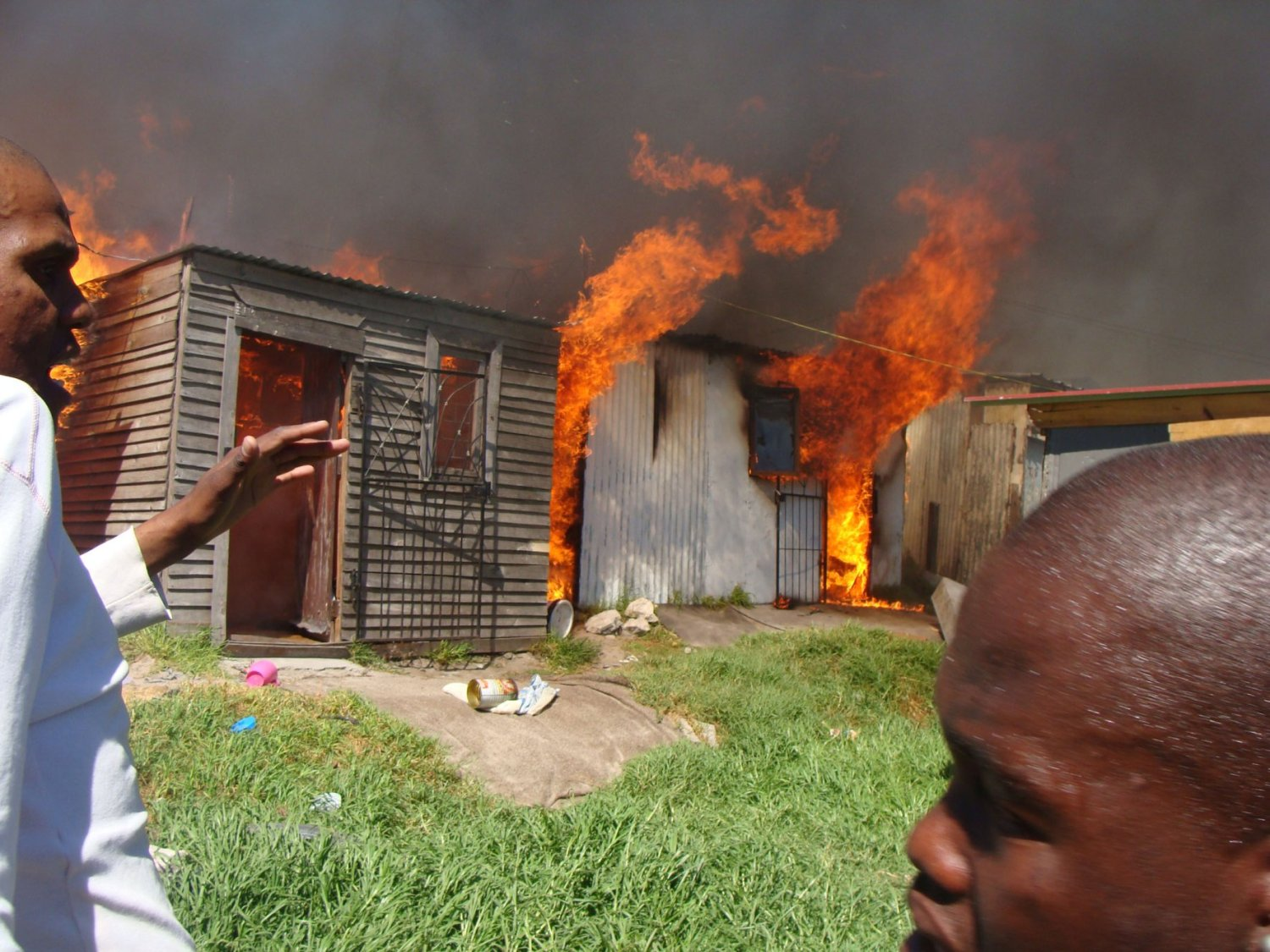 Shack fires ravage Cape Town