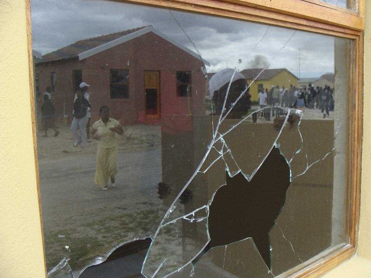 Mandela Park house chaos
