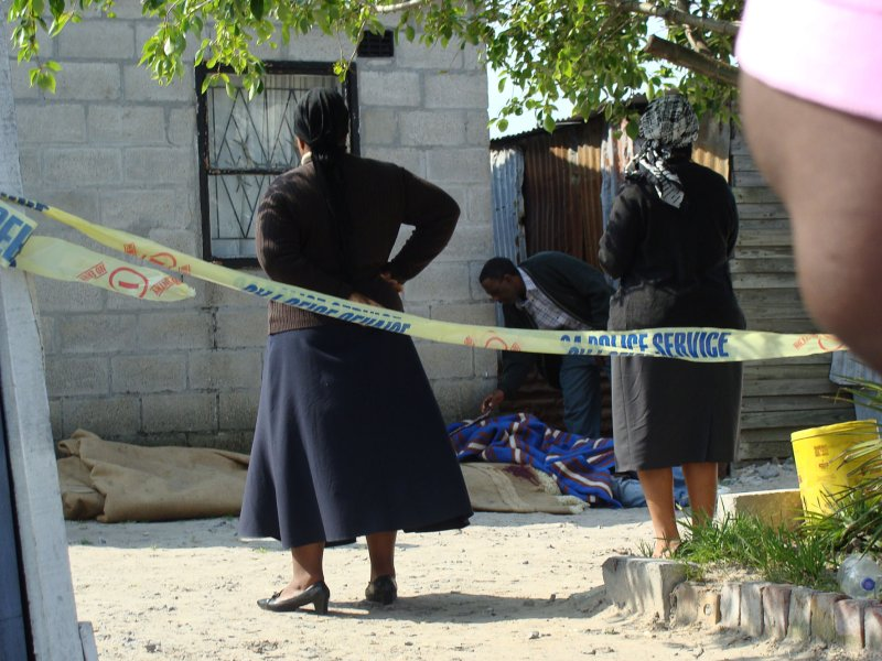 Cape Town killing: residents suspect muthi motive