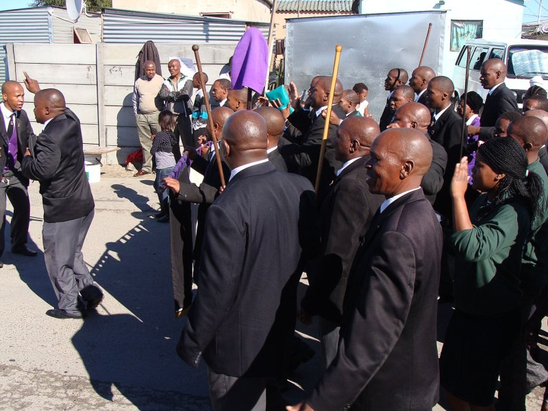 Church members say no to xenophobia