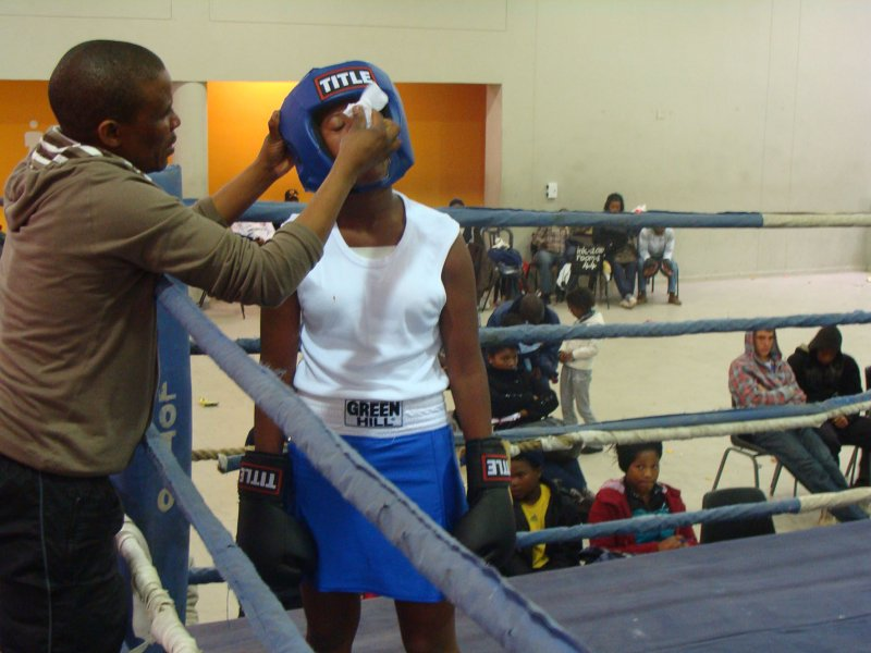 Million Dollar Baby's get in the ring