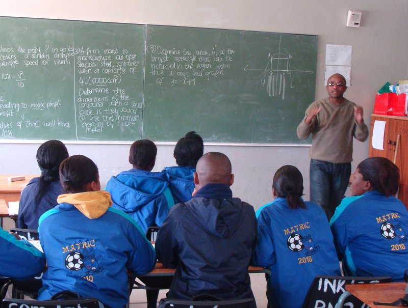 Cape Town teacher goes it alone