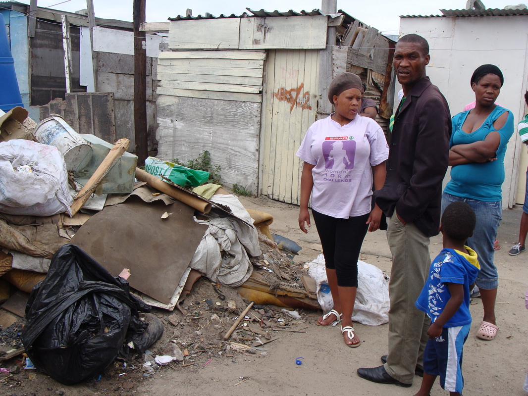 Cape Town community angry over dumped rubbish