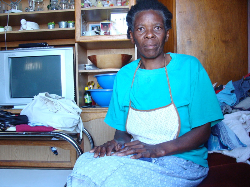 Woman battles boss for RDP house