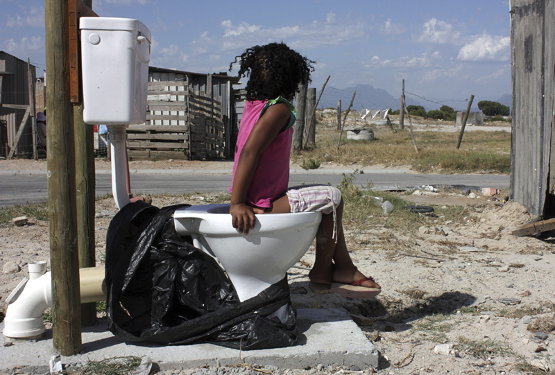 Makhaza toilet protestors absent from court