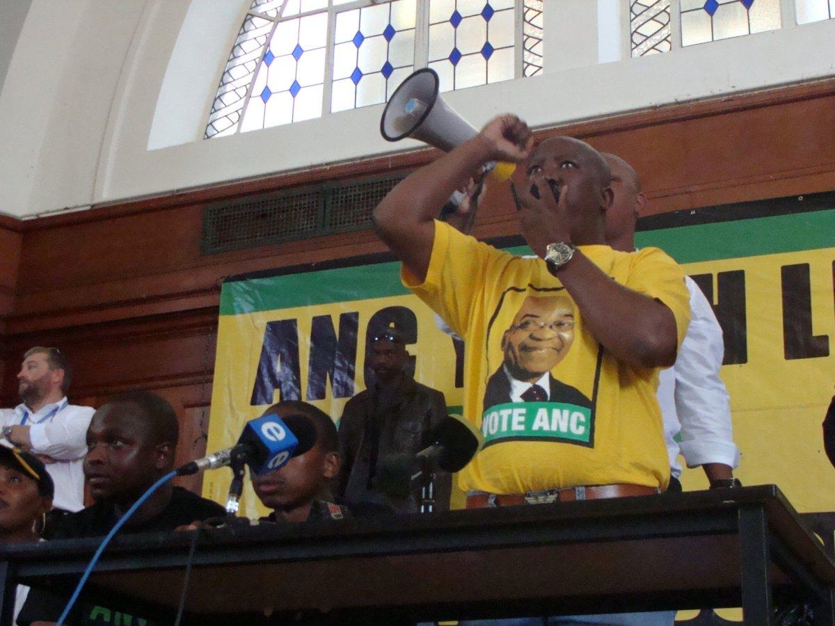 Malema makes university entrance