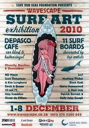 Surfers and artists splash out for charity