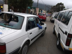 Man critically injured, children traumatised as Hout Bay sedan taxis battle over turf