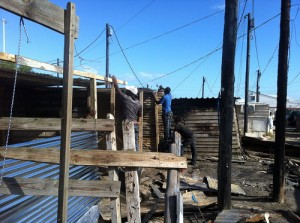 Weekend shack fires kill two people, man saves a third person from death