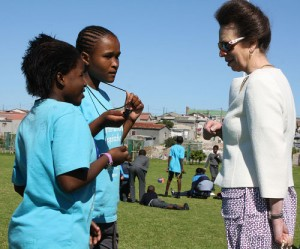 Khayelitsha school hosts Royal visit
