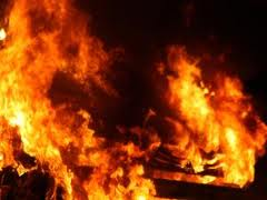 Two children die in shack fire