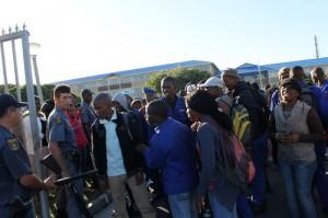 College students protest over transport reimbursements