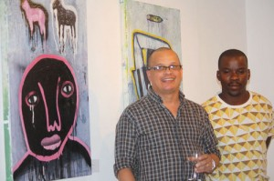 Township painter beat the odds and hosts solo exhibition