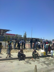Khayelitsha residents demand jobs at new shopping centre