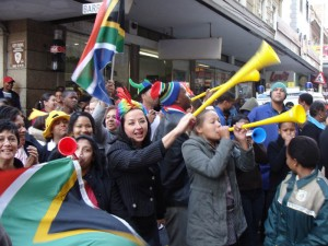 Cape Town shows its Gees