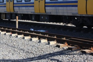 Baby killed by train while mother survives