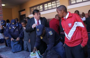 MECs observe weapons search at Khayelitsha school